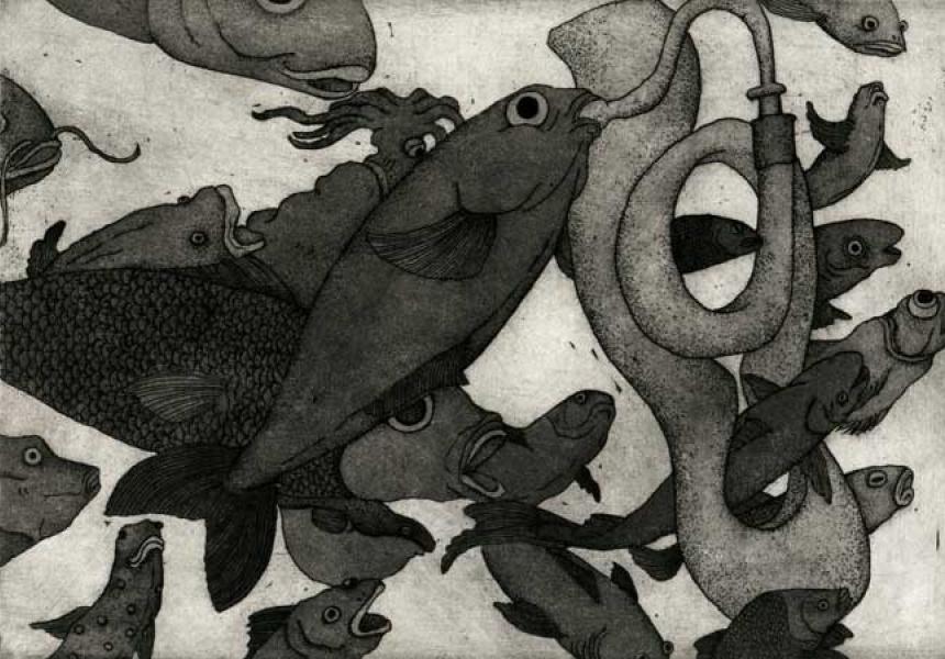 Damon Kowarsky and Kyoko Imazu, Trumpet Fish