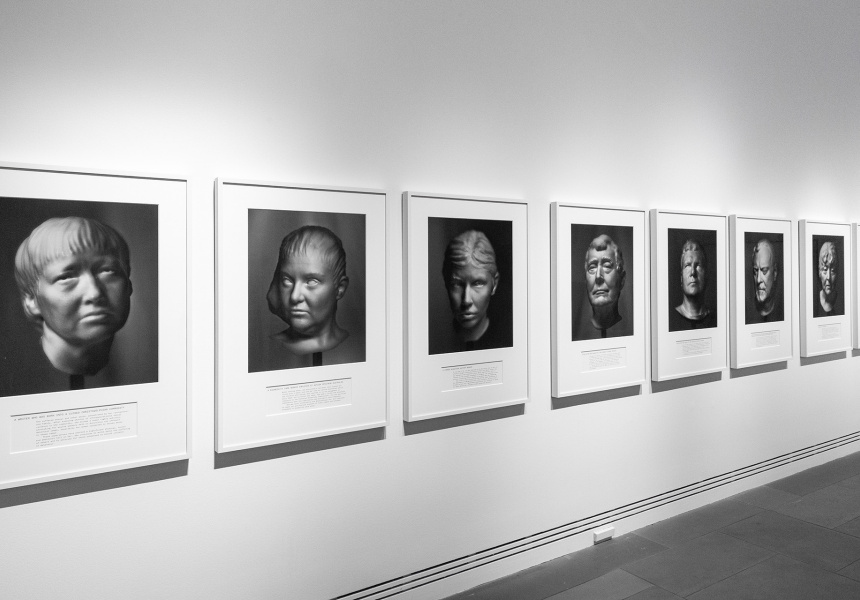 Installation view: Ramsay Art Prize 2021, featuring Agonistes by Hoda Afshar