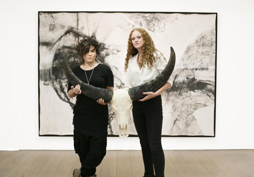 Sophie Cape and Juz Kitson