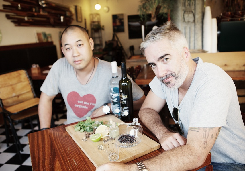 Jason Chan and Jeremy Spencer of West Winds Gin