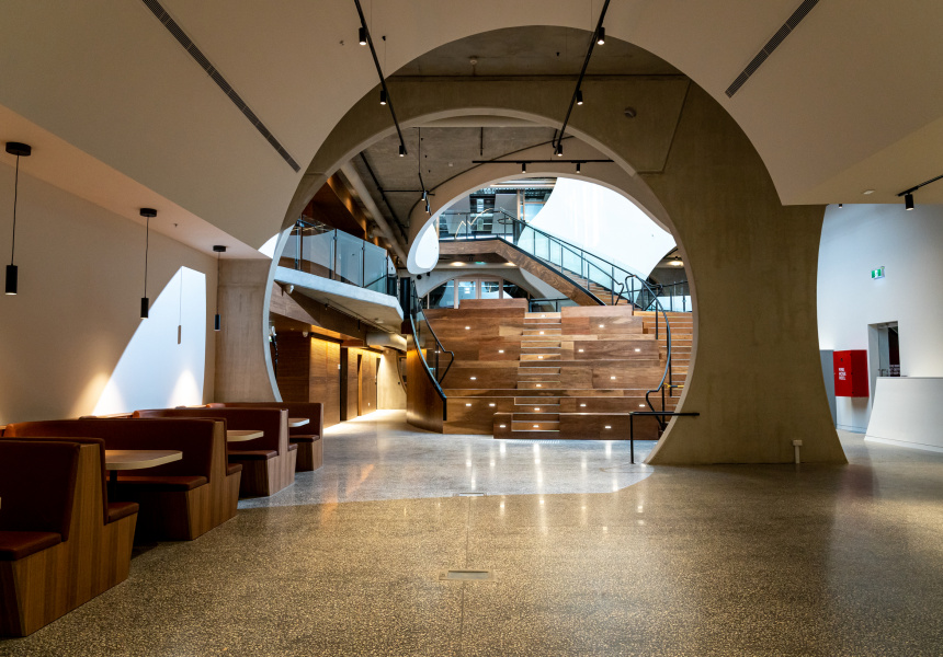 The Victorian Pride Centre, Brearley Architects & Urbanists (BAU) and Grant Amon Architects