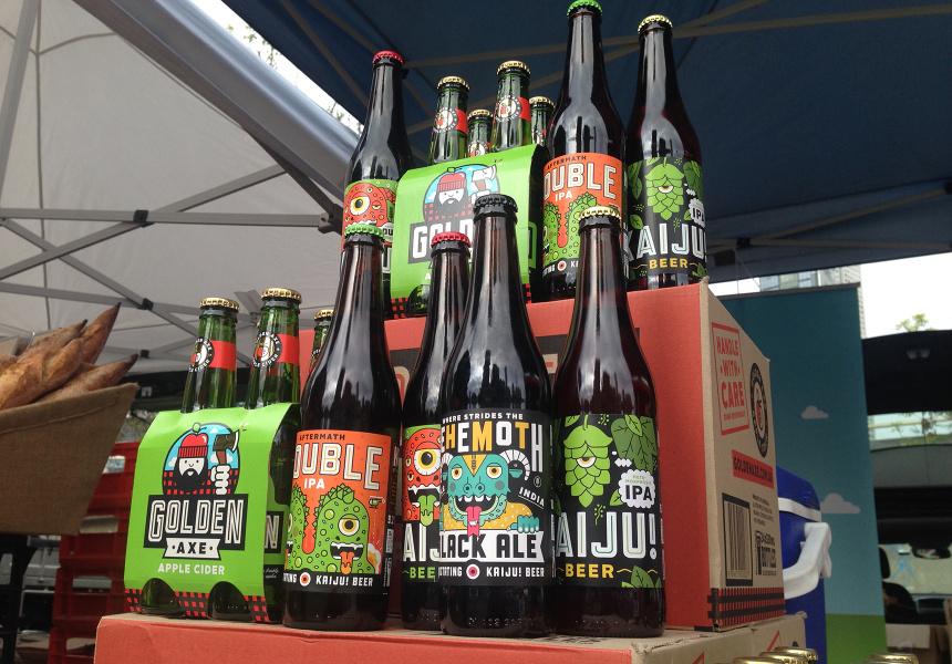 The Kaiju! beer range