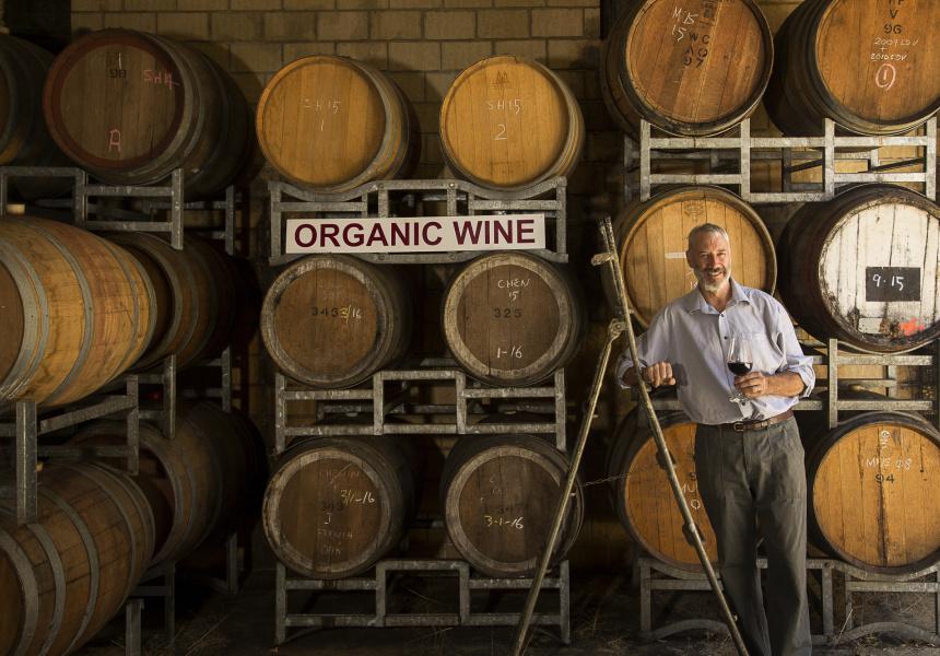 Duncan Harris of Harris Organic Wines.