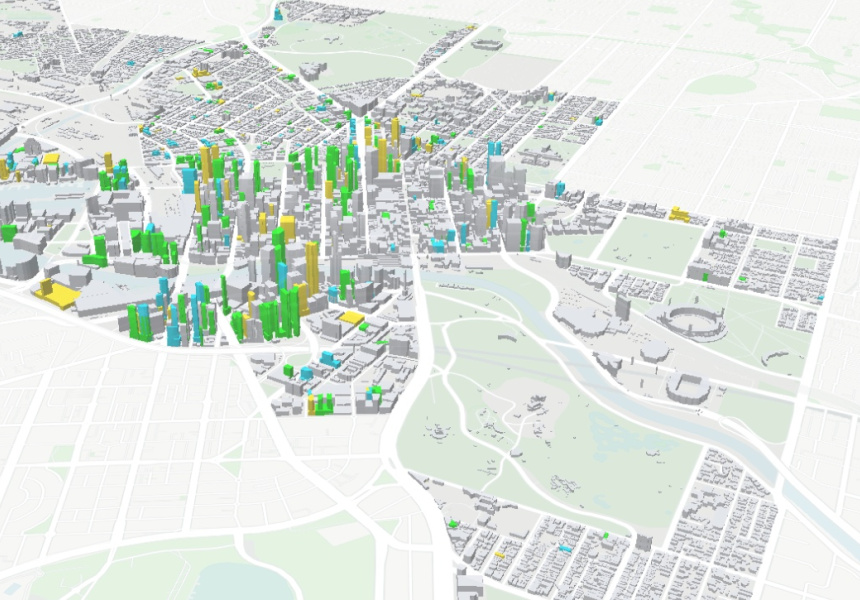 3D Map Shows the Future of Melbournes CBD Broadsheet
