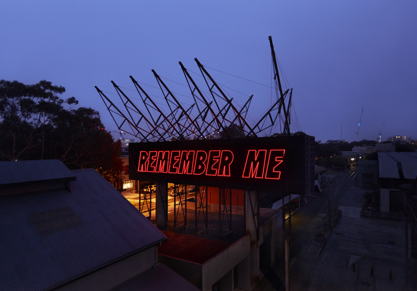 Reko Rennie, REMEMBER ME, 2020, Carriageworks
