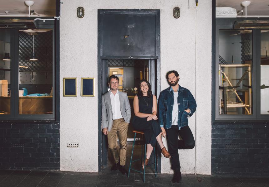 Matt Swieboda, Jasmin Natterer and Ben Abiad