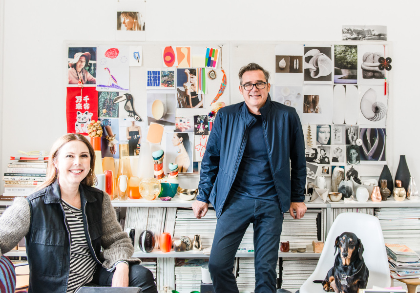 Louise Olsen and Stephen Ormandy.
