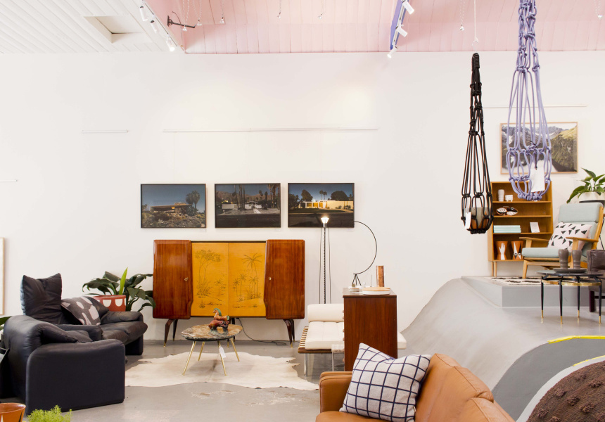 Modern Times' Fitzroy showroom.  Note: the sale is in its warehouse down the road.