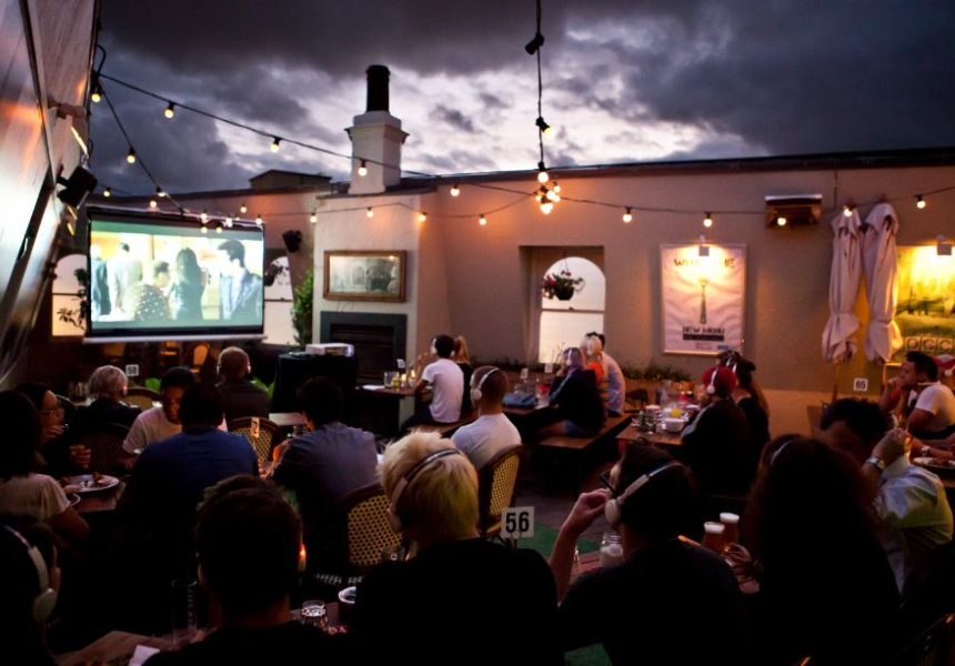 Silent Cinema at The Local Taphouse
