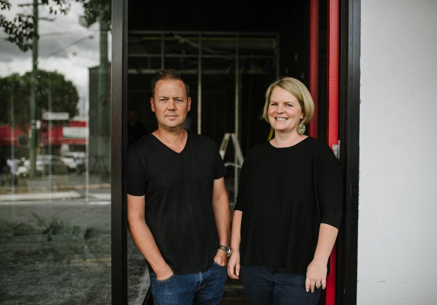 Brett and Alison Hutley.