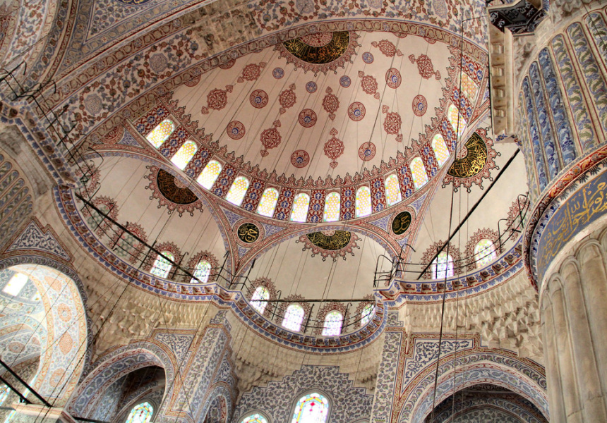 Blue Mosque, photography by Sultanahmet Camii