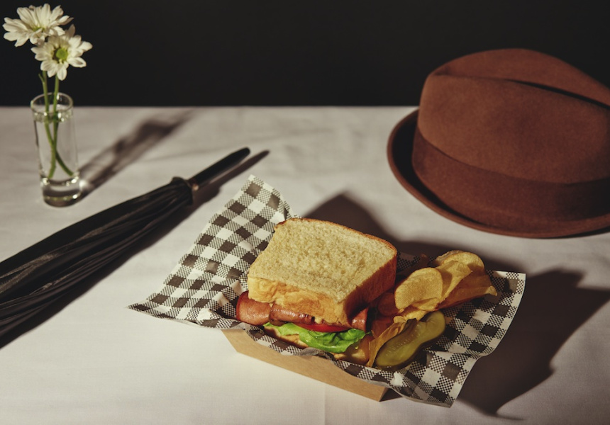 Singin' in the Rain - Mr G Kelly's Fried Bologna Sandwich