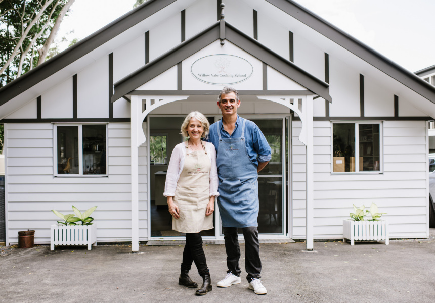 Catherine and Bruno Loubet