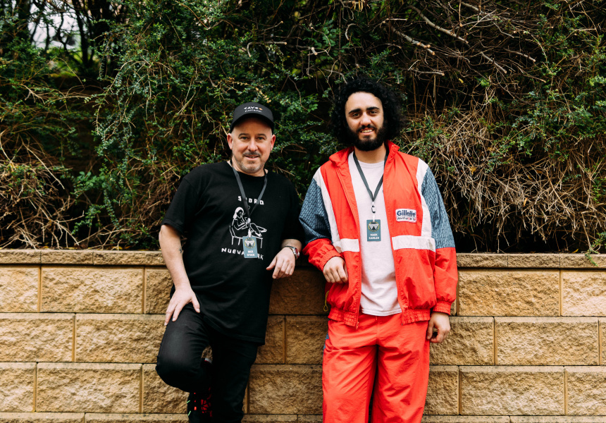 Nick Stock and Mark Kamleh