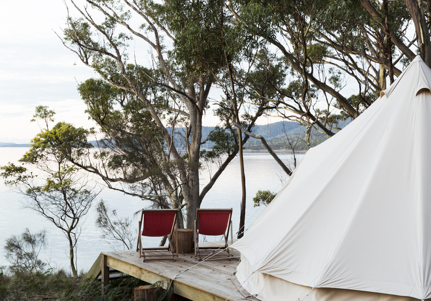 Satellite Island, near Hobart – TAS