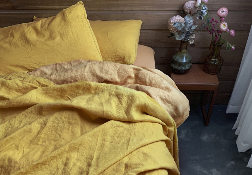 Dazed But Amazed linen