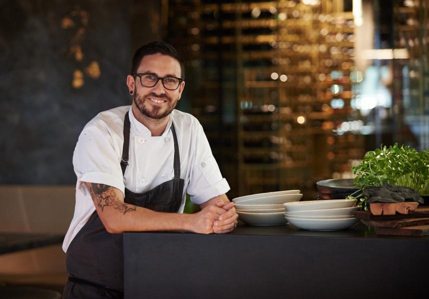 Head chef Liam Atkinson