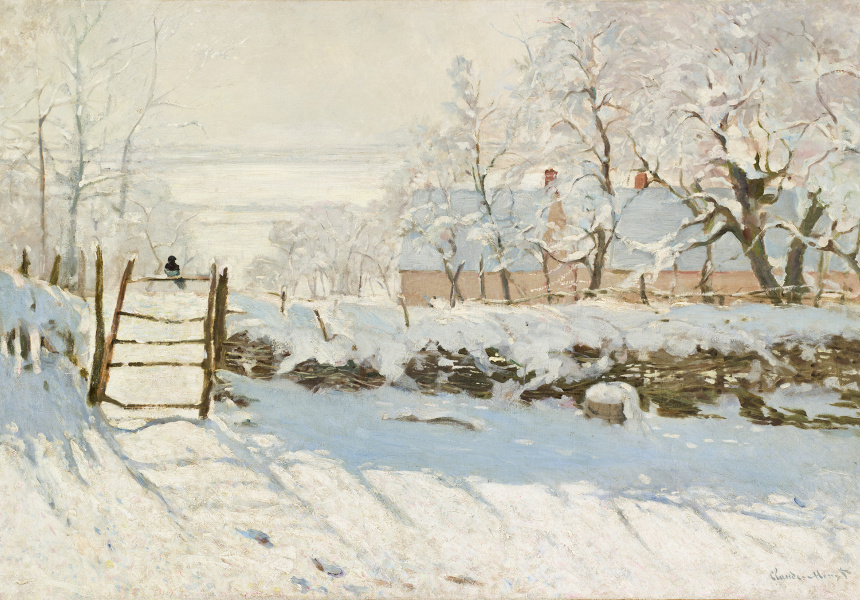 Monet, The Magpie