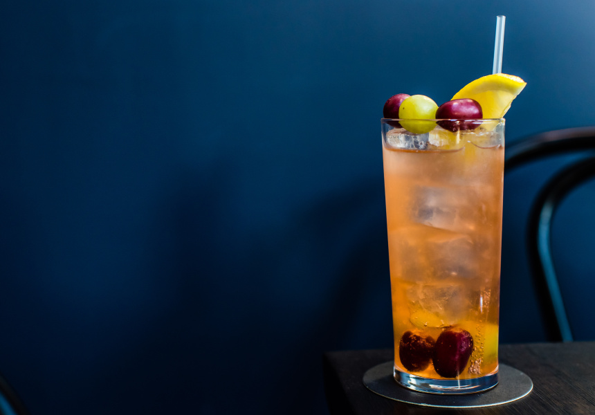 Three-Grape Highball