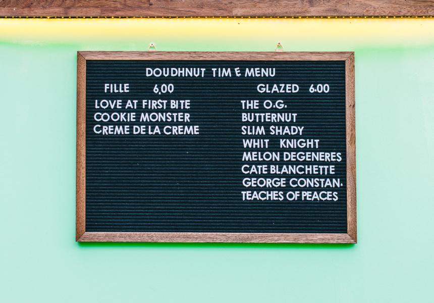 Doughnut Time Central Park