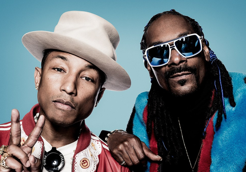 Snoop Dogg and Pharrell Williams