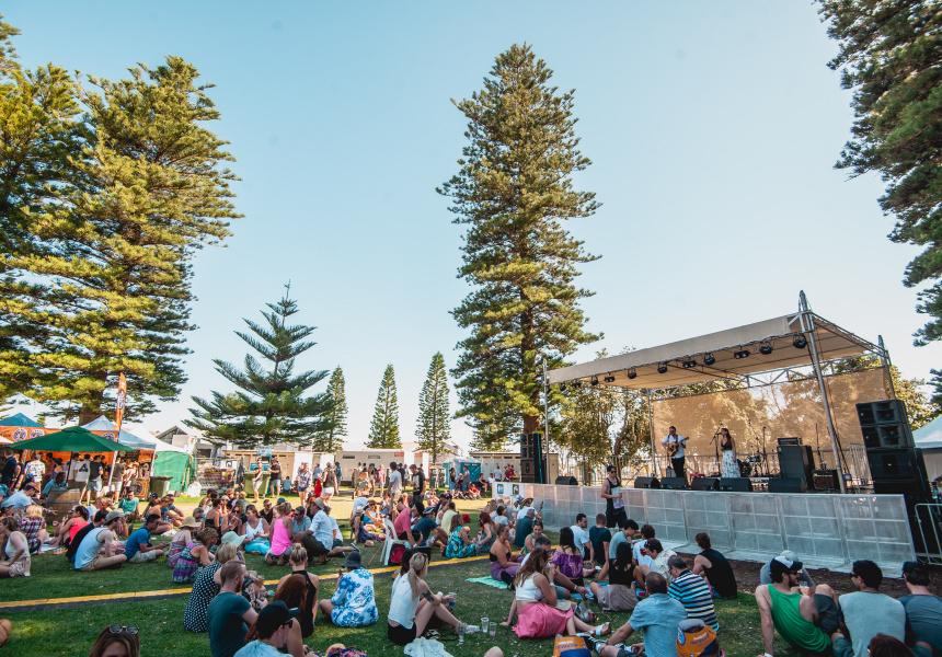 BeerFest 2018 at Fremantle's Esplanade Park.