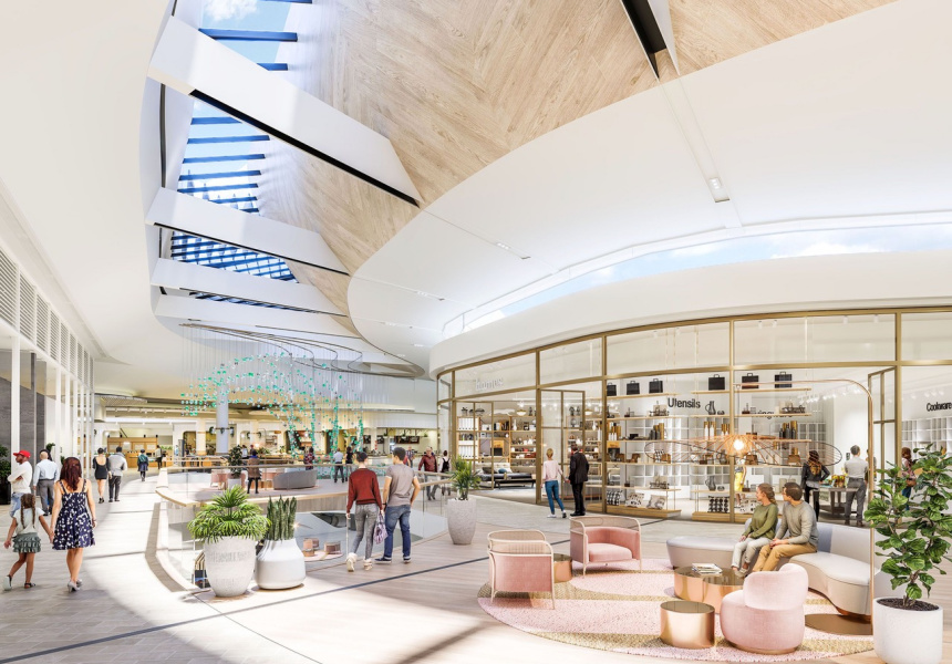 Render of The Loop, Level 1 at Karrinyup Centre