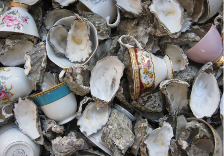 Jones Oyster and Teacups