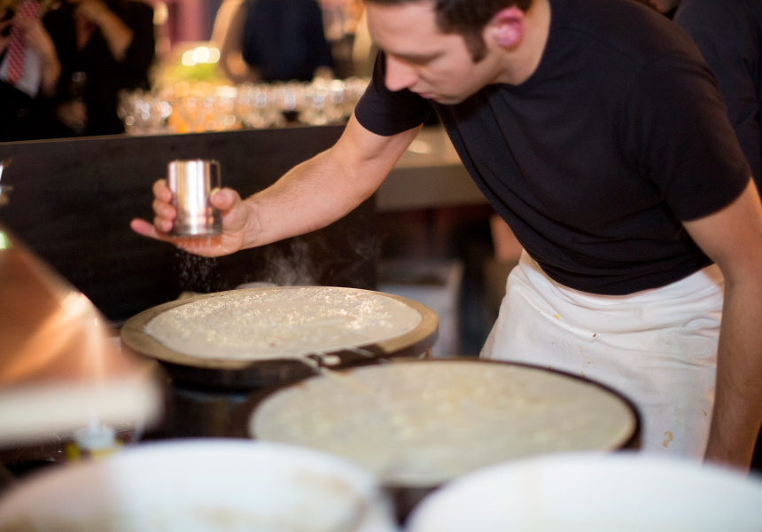 Pop-Up Crepes