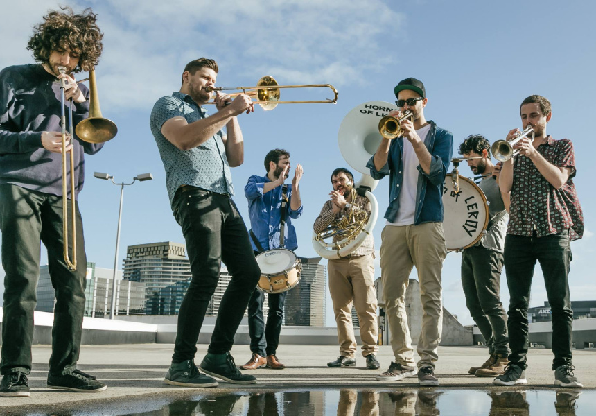 Fed Square Live: Horns of Leroy
