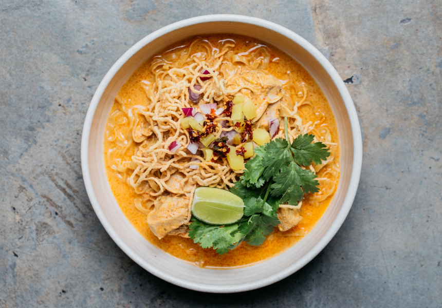 Patty Antico's khao soi