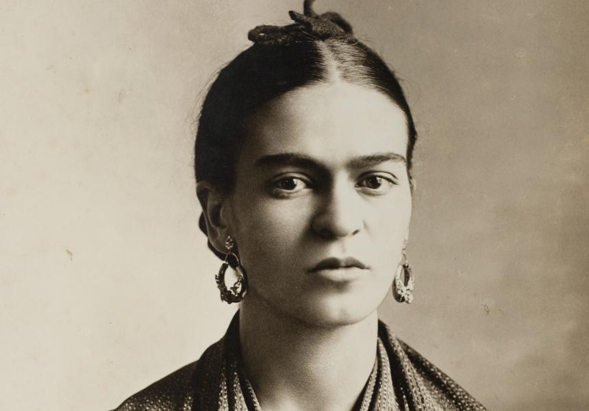 Frida Kahlo (detail), by Guillermo Kahlo, 1932 © Frida Kahlo Museum