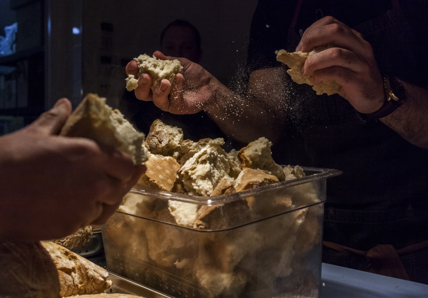 Fervor chefs breaking damper at Katanning.