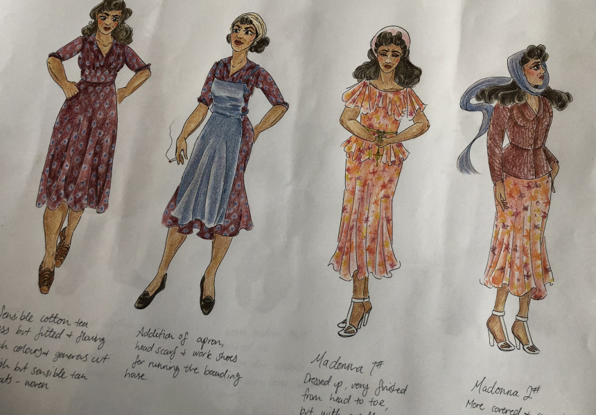 Designing Costumes For The Gods Of Strangers
