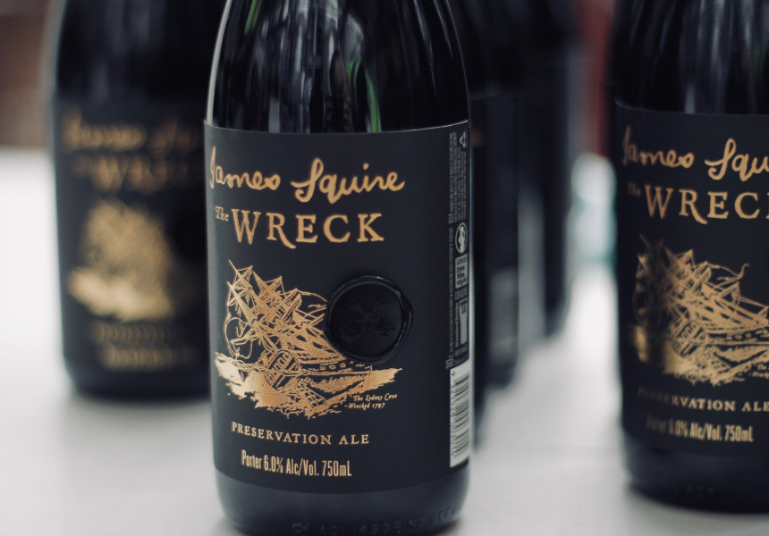 "James Squire ""The Wreck"" Preservation Ale"