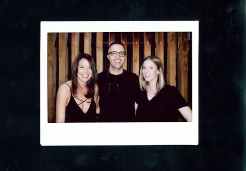Sofia Levins (The Weekly Review), Dave Verhuel (The Town Mouse, Melbourne), Anna Webster (Broadsheet contributor), The Town Mouse
