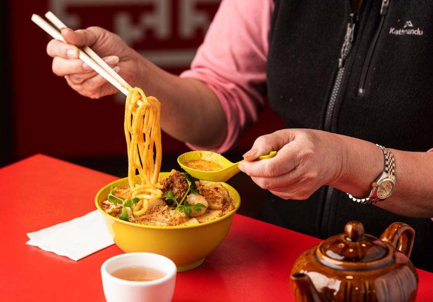 Asian Gourmet's laksa