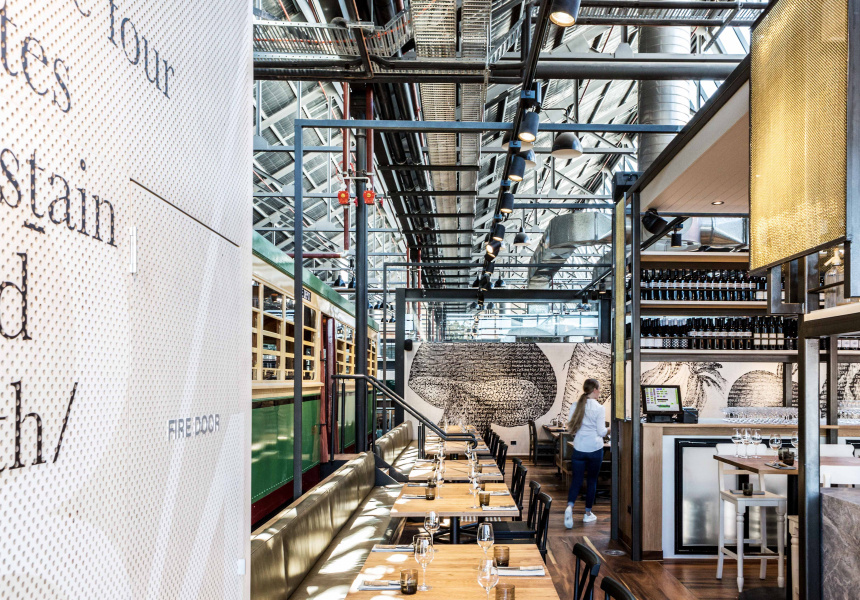 Butcher and Farmer, The Tramsheds