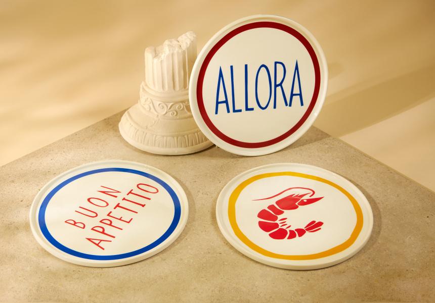 Roundhouse Italian plates