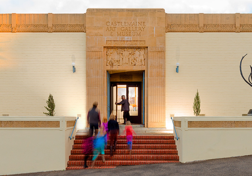 Image supplied by Castlemaine Art Gallery.
