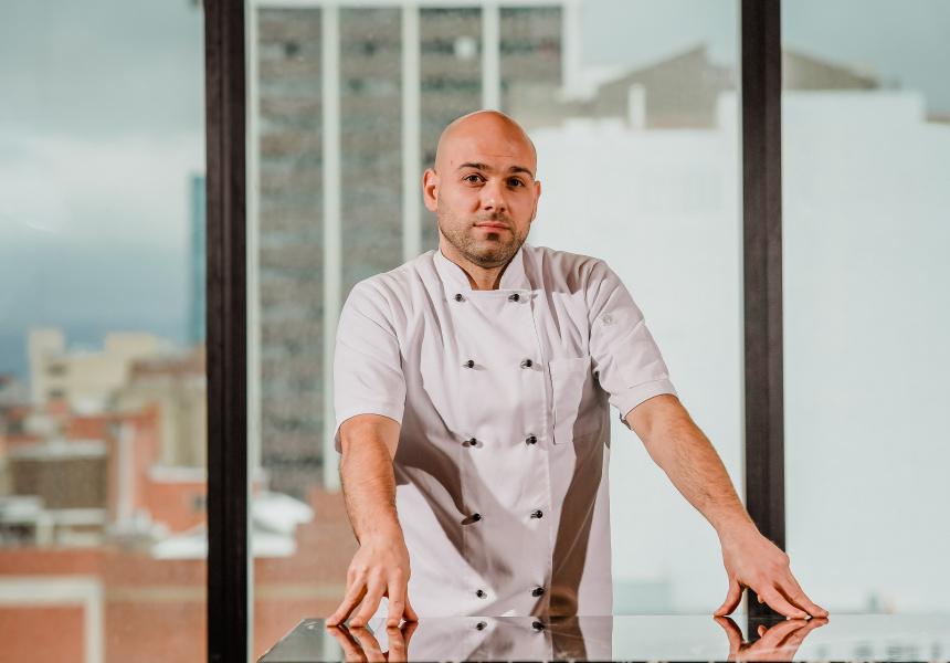 Chef de cuisine Gianni Delogu