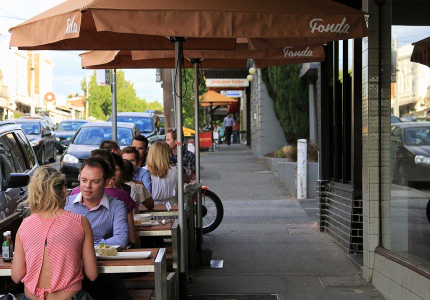 Fonda Mexican, Swan Street.
