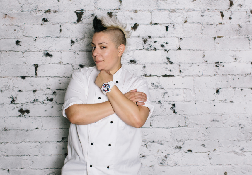 Anna Polyviou, executive pastry chef from Sydney's Shangri-La.