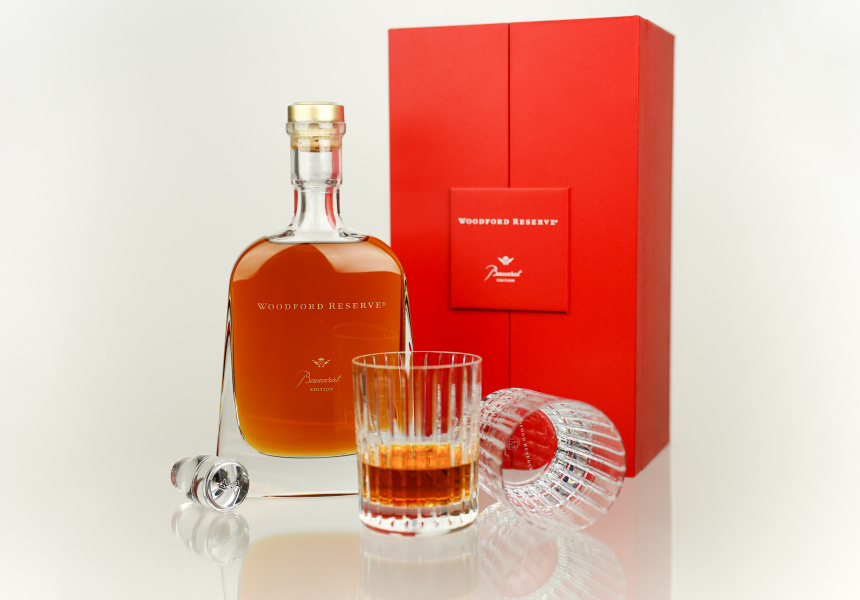 Woodford Reserve Baccarat Edition and Crystal Glassware