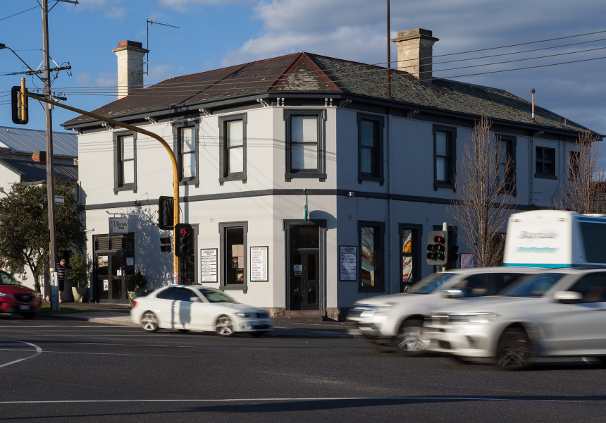 The former Reverence Hotel, Footscray