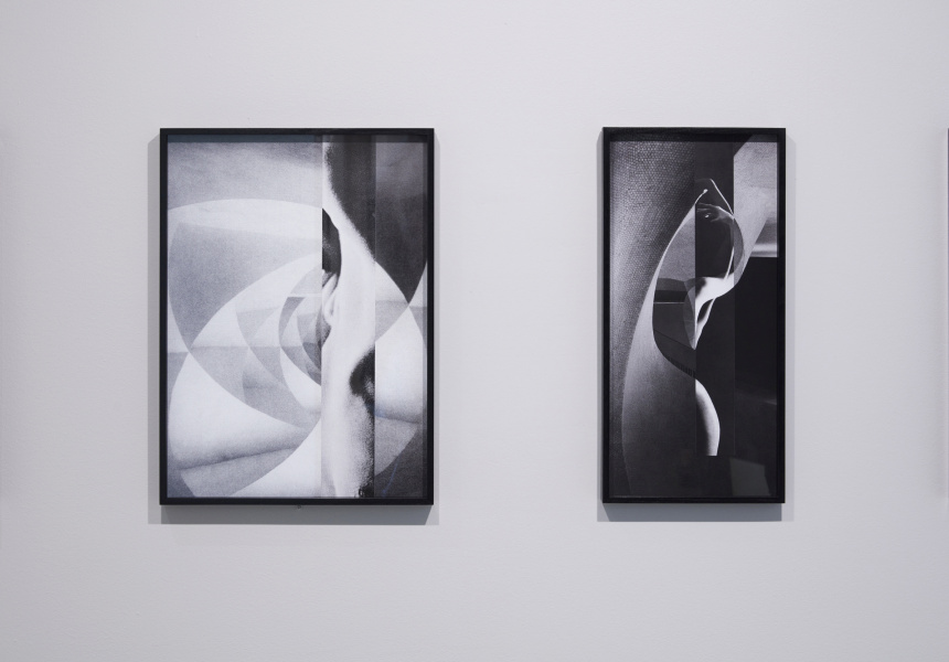 Installation view of Zoe? Croggon: Tenebrae at the National Gallery of Victoria. Presented as part of the NGV Festival of Photography.