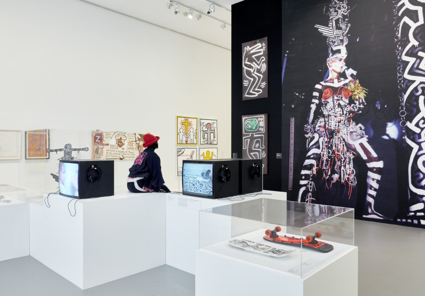 Keith Haring | Jean-Michel Basquiat: Crossing Lines