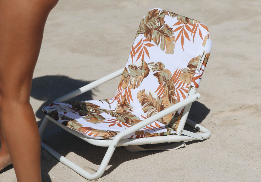 Sunday Supply Co beach chair, $129