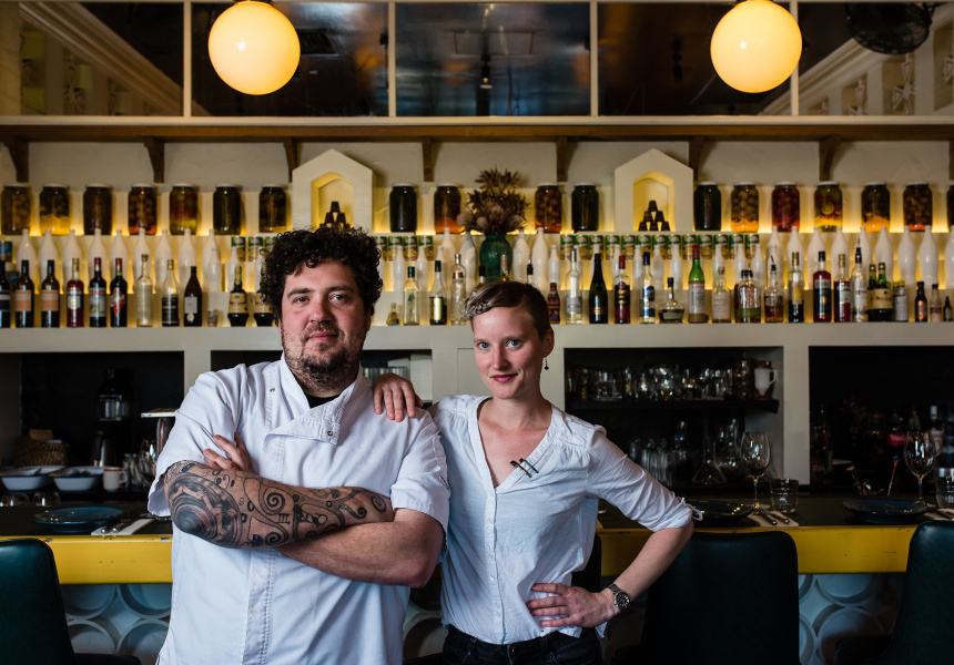 Duncan Welgemoed and head chef Imogen Czulowski