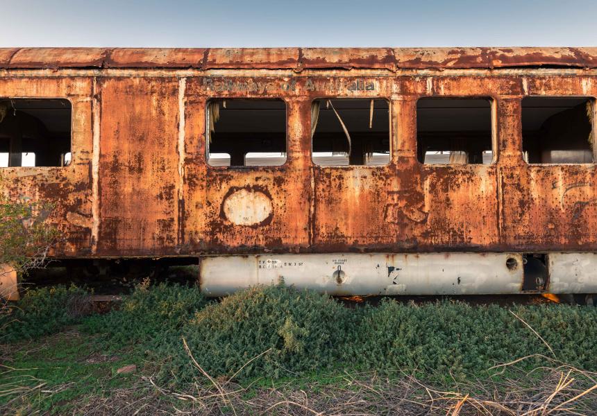 Port Pirie train graveyard
